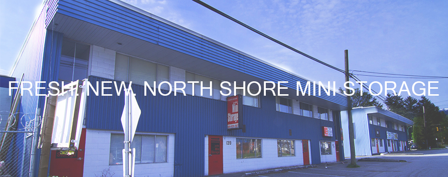north shore mini storage, storage north vancouver, self storage