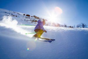 ski, items, snow