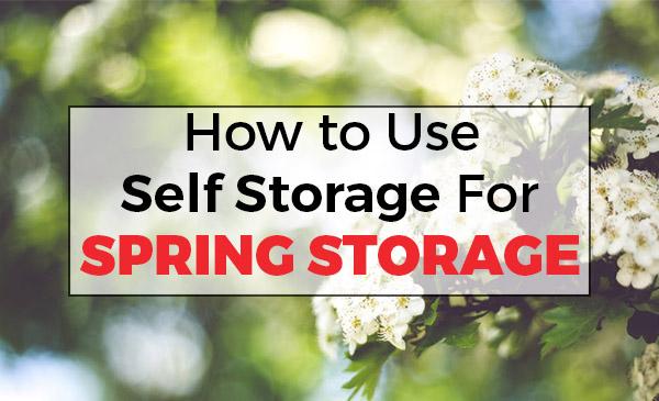 spring storage, self storage, north shore