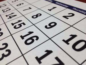 calendar, to do