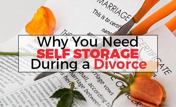divorce, self storage
