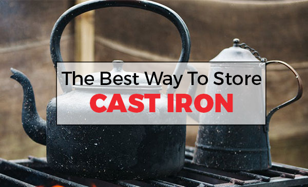 store cast iron, how to