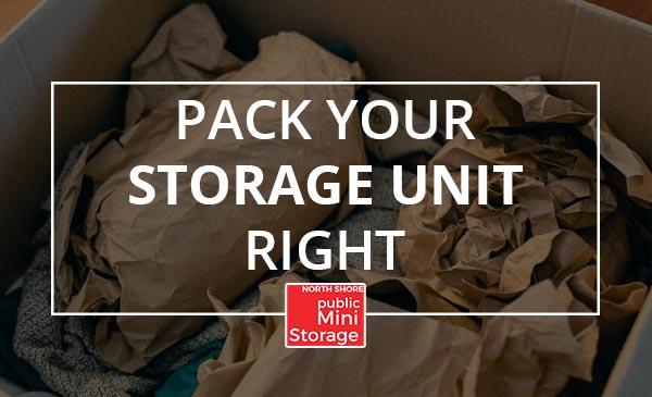 pack, box, items, storage unit