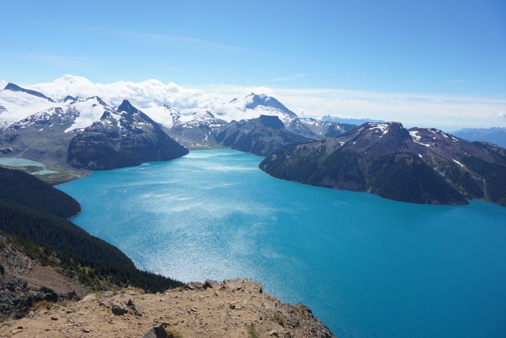panorama ridge, top, viewpoint, garibaldi lakes