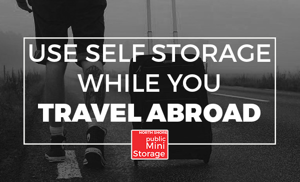 self storage, travelling abroad