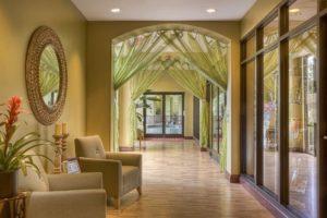 hallway, home, interior