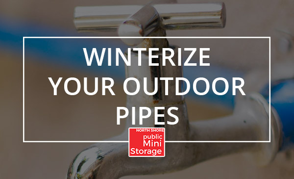 outdoor pipes, winter, tips