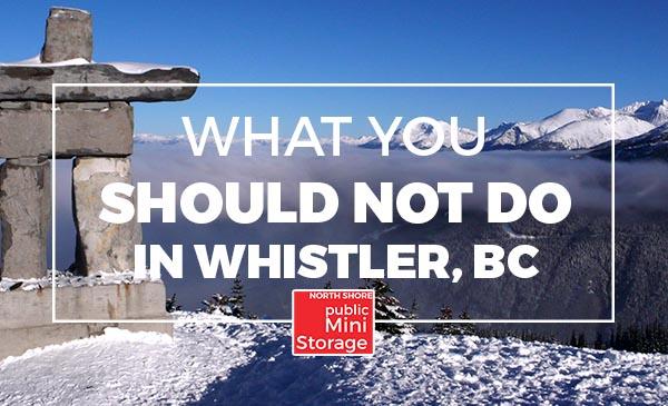 whistler, bc, tips