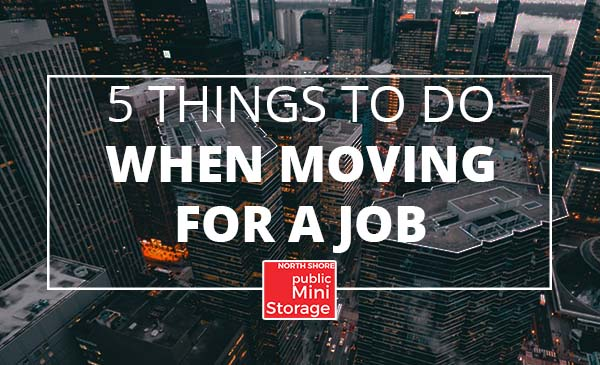 moving, new job, city
