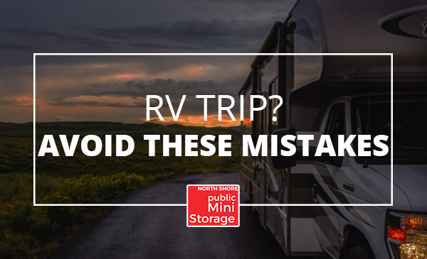 rv trip, mistakes, tips