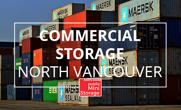 commercial storage, shipping, north vancouver