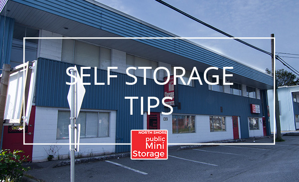 storage tips, north vancouver