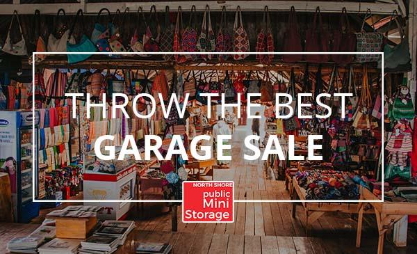 garage sale, store
