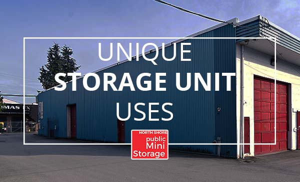 unique storage unit, uses, north shore mini storage