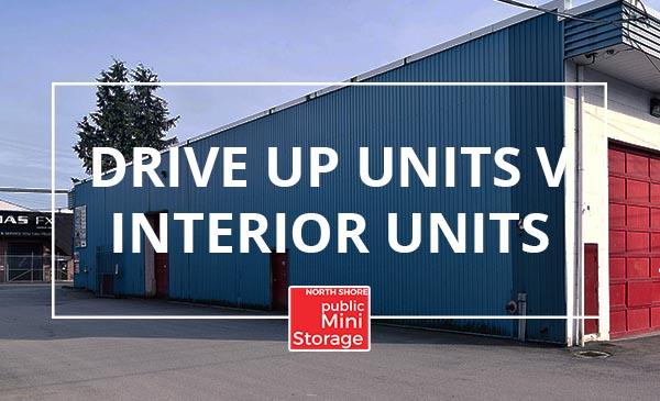 drive up units, interior units