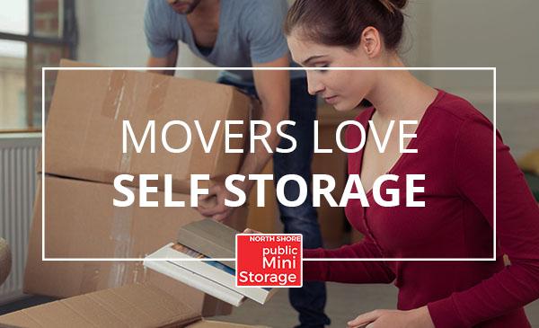 movers, self storage, women