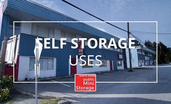 self storage, uses, north shore mini storage