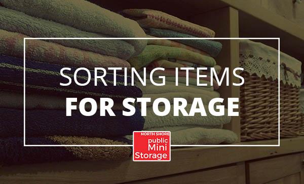 sorting, storage, items