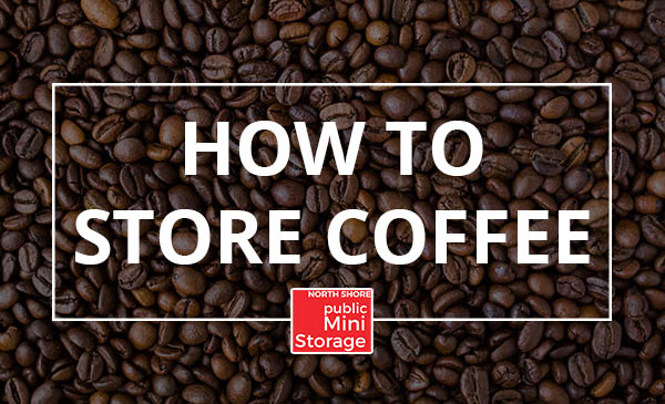 store coffee, tips, beans