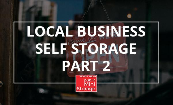 local business, self storage