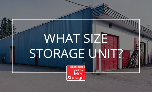 size, storage unit, north vancouver