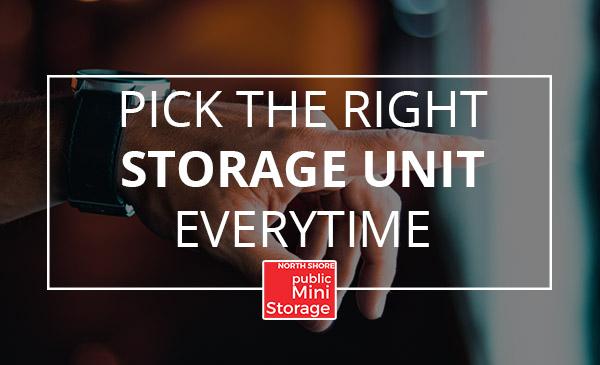 pick, storage unit, choice