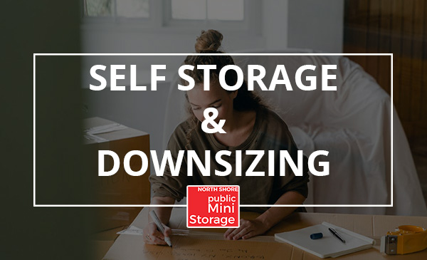 downsizing, storage, boxes