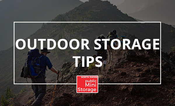 outdoor storage, tips, hiking